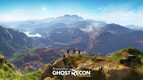 Ghost Recon Wildlands Panorama