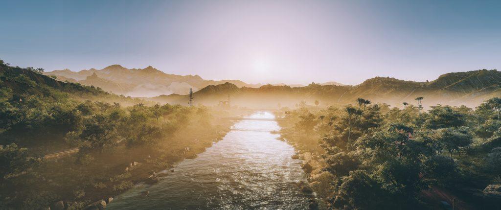 Panic : Photo Realistic Waterway