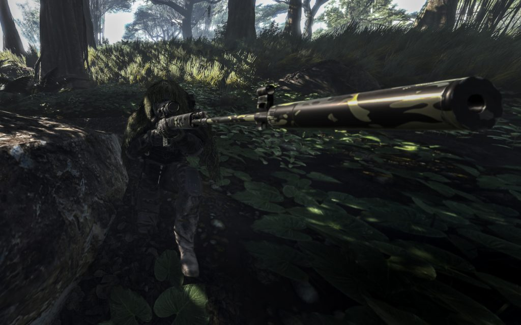 Panic : Sniper Barrel