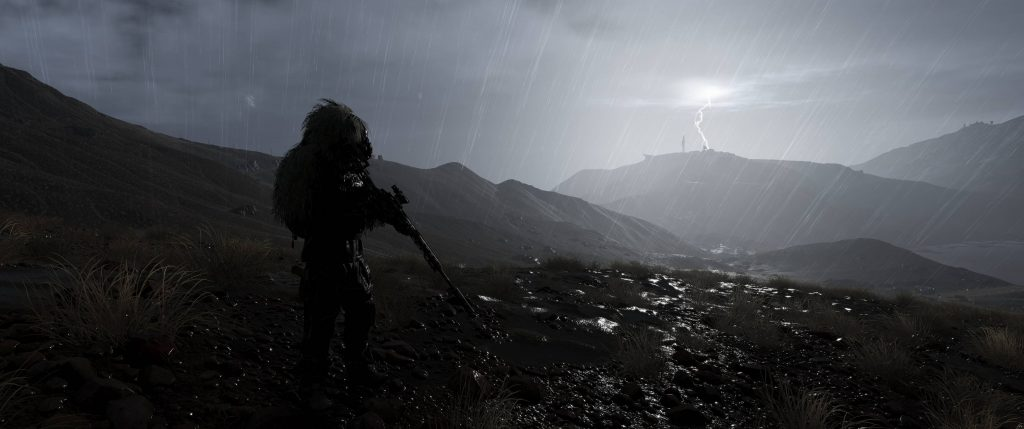Panic : Sniper in Rain