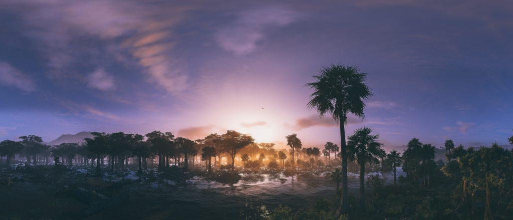 Panic : Sunset Trees