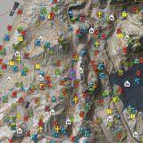 60 Million Pixel Interactive Wildlands Map