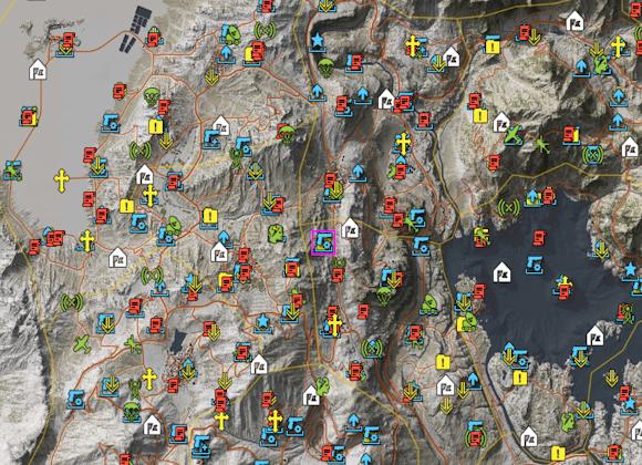 wildlands interactive map