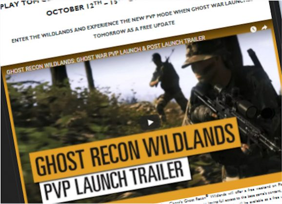 4 Days of FREE Wildlands – inc. PVP!