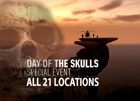 WILDLANDS all 21 skull locations