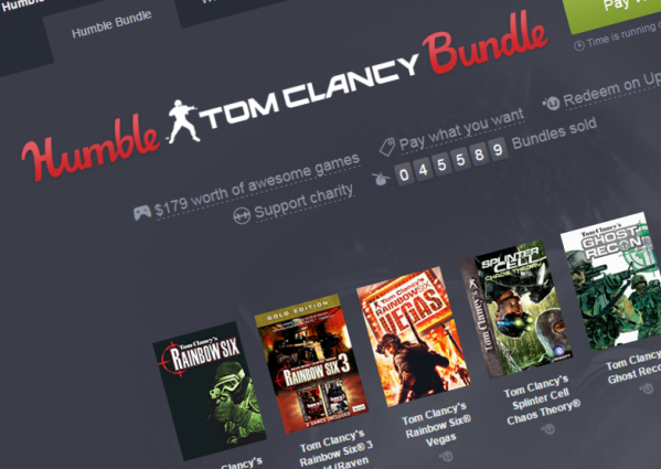 Massive Ubisoft Sale and Humble Bundle