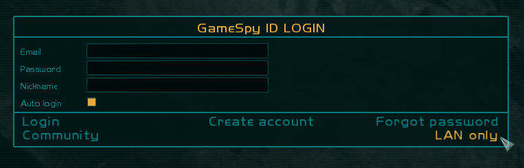 Gamespy ID for GRAW2