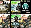 Ghost Recon Magazine Covers
