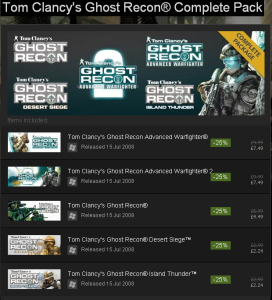 Ghost Recon Complete