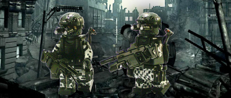 Check out these Ghost Recon Future Soldier brick characters.