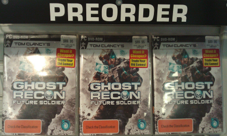 Ghost Recon Future Soldier Pre-order