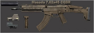 Magpul Masada for GRAW 2