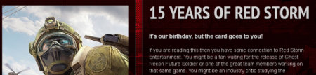 Red Storm Entertainment Birthday