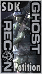 Ghost Recon Petition