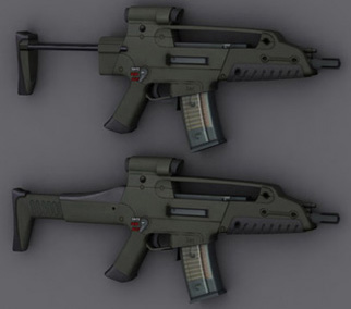Xm8 Compact Carbine Crysis 2 Scar | Ace of...